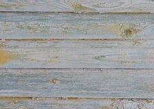 Alte gemalte beige hölzerne Wandbeschaffenheit Stockfoto