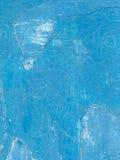 Alte gemalte blaue Wand Lizenzfreies Stockfoto