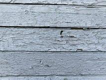 Alte gemalte Bretter im Blau, Hintergrund drei Stockfotografie