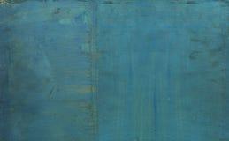 Alte gemalte hölzerne Beschaffenheit Lizenzfreies Stockfoto