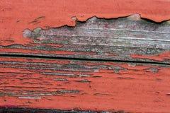 Alte gemalte hölzerne Planke Stockfotos
