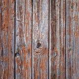 Alte gemalte hölzerne Wand - Beschaffenheit oder Hintergrund Stockbild