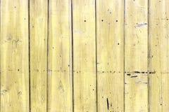Alte gemalte hölzerne Wand - Beschaffenheit oder Hintergrund Lizenzfreie Stockfotos