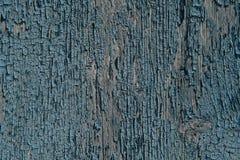 Alte gemalte hölzerne Wand - Beschaffenheit oder Hintergrund Stockfotos