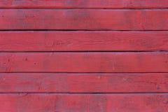 Alte gemalte hölzerne Wand - Beschaffenheit oder Hintergrund Stockfoto