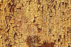 Alte gemalte hölzerne Wand - Beschaffenheit oder Hintergrund Stockbilder