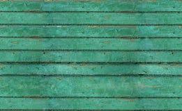 Alte gemalte Planken Stockfotos