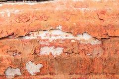 Alte gemalte synthetische Oberfläche mit Kratzern und Sprüngen, Hintergrund/Beschaffenheit Lizenzfreies Stockfoto