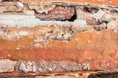 Alte gemalte synthetische Oberfläche mit Kratzern und Sprüngen, Hintergrund/Beschaffenheit Stockbild