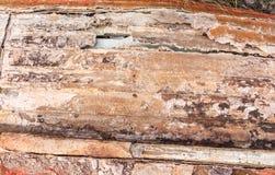 Alte gemalte synthetische Oberfläche mit Kratzern und Sprüngen, Hintergrund/Beschaffenheit Stockbilder