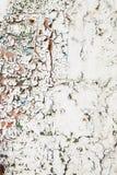 Alte gemalte Wand Stockfoto