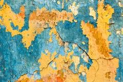 Alte gemalte Wandbeschaffenheit Stockfotos