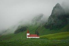 Alte Gemeindekirche in Island lizenzfreies stockbild