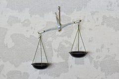 Alte genaue Balance Stockbild