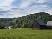 Alte geschichtete Scheune in Vermont Lizenzfreie Stockfotos