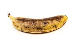 Alte geschlagene Banane Stockbild
