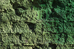 Alte getragene alte Backsteinmauer in der Schmutzart, der strukturierte Hintergrund Lizenzfreies Stockbild