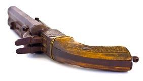 Alte Gewehr-obere Seite stockbild