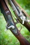 Alte Gewehre Stockfoto