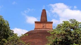Alte gigantische Buddhismuspagode Stockbild