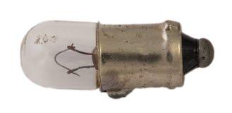Alte Glühlampe für Autoscheinwerfer Lizenzfreies Stockfoto