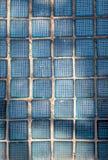 Alte Glasblöcke in den Wänden Lizenzfreie Stockbilder