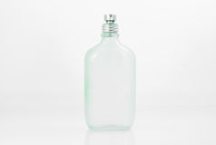 Alte Glasduftstoffflasche Stockbild