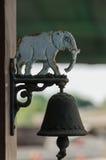 Alte Glockenelefantform Lizenzfreies Stockbild