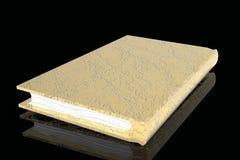 Alte goldene Wiedergabe des Buches 3D stock abbildung