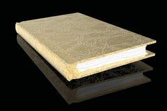Alte goldene Wiedergabe des Buches 3D lizenzfreie abbildung