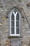 Alte gotische Fenster Lizenzfreies Stockfoto