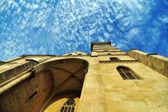 Alte gotische Kathedrale Stockbilder