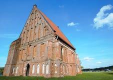 Alte gotische Kirche Stockfoto