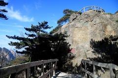 Alte Gräber auf der Klippe Lizenzfreies Stockbild