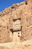 Alte Gräber bei Naqsh-e Rustam, der Iran Stockfotografie