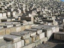 Alte Gräber in Jerusalem Lizenzfreies Stockbild