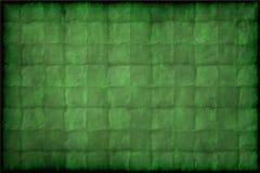 Alte Grünbuchbeschaffenheit oder -hintergrund der Weinlese Stockfotos