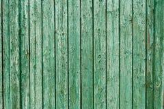Alte grüne hölzerne Beschaffenheit alte Panels des Hintergrundes Lizenzfreie Stockfotos
