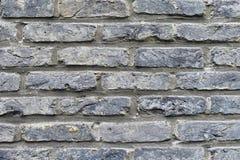 Alte graue Backsteinmauerbeschaffenheit Lizenzfreies Stockfoto