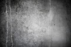 Alte, graue Betonmauer Stockfotografie