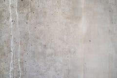 Alte graue Betonmauer Stockfotos