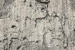 Alte graue Betonmauer, Beschaffenheit Lizenzfreie Stockfotos