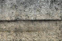 Alte graue Betonmauer für Hintergrund Stockfotografie