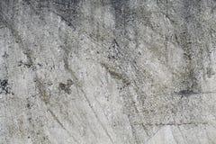 Alte graue Betonmauer für Hintergrund Lizenzfreies Stockfoto