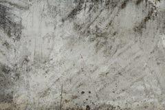 Alte graue Betonmauer für Hintergrund Lizenzfreie Stockfotografie