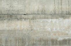 Alte graue Betonmauer für Hintergrund Stockbilder