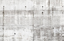 Alte graue Betonmauer mit Details, Hintergrundbeschaffenheit Lizenzfreies Stockbild