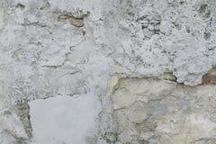 Alte graue Betonmauerhintergrundbeschaffenheit Stockbilder