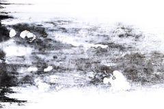 Alte graue Zementwand mit Schmutzoberfläche knackte Alte Wand V Lizenzfreie Stockfotos