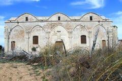 Alte griechische Kirche Stockfotos